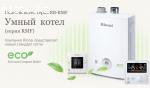 Настенные газовые котлы и водонагреватели Rinnai